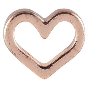 Picture of Rose Gold Heart Charm
